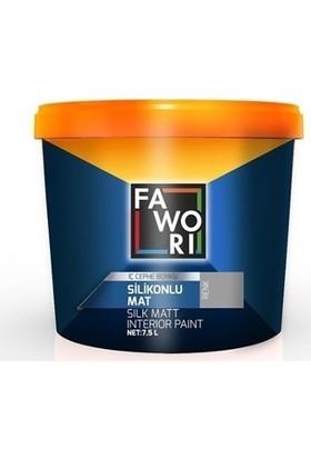 Fawori Silikonlu Mat İç Cephe Duvar Boyası - 15 LT