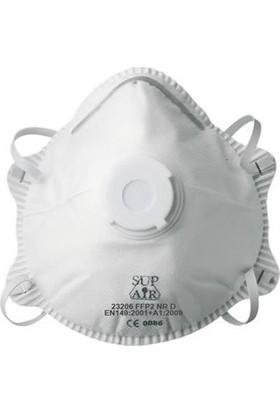 Hry Ventilli Toz Maskesi Filtreli - Ağız-Burun - 25 Adet
