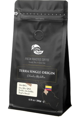 Coffeetropic Terra Single Origin Colombia-Medellin 250 gr