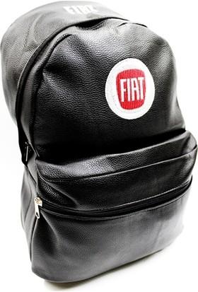 Simoni Racing Fiat Logolu Deri Sırt ve Bagaj Çantası 423861