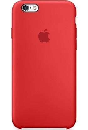 Graytiger Apple iPhone 6/6S Kırmızı Silikon Kılıf Kauçuk Arka Kapak
