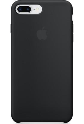 Graytiger Apple iPhone 8 Plus Siyah Silikon Kılıf Kauçuk Arka Kapak
