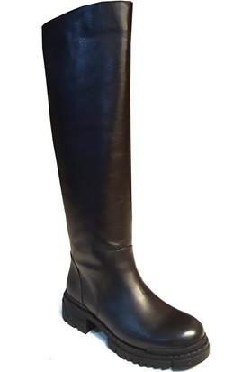 Shop And Shoes 212-18214-S Siyah Çizme Siyah