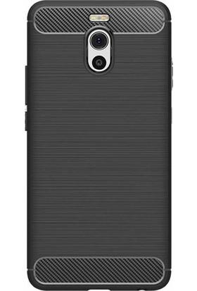 "Microcase Meizu M6 Note 5.5"" Brushed Carbon Fiber Silikon TPU Kılıf"