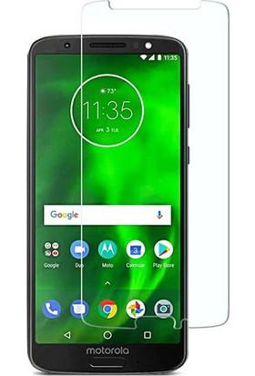 Microcase Motorola Moto G6 Plus Tempered Glass Cam Ekran Koruma
