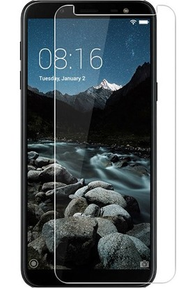 Microcase Samsung Galaxy J6 J600 Tempered Glass Cam Ekran Koruma