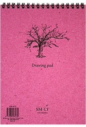 Sm.Lt Drawing Pads Authentic A4 60Yp 120Gr