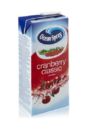 Ocean Spray Cranberry Juice (Yabanmersini İçeceği) 1Lt.