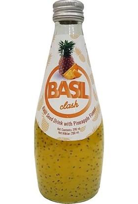 Basil Clash Fesleğen Tohumlu Ananas İçeceği, 290 ml