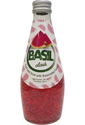 Basil Clash Fesleğen Tohumlu Karpuz İçeceği, 290 ml