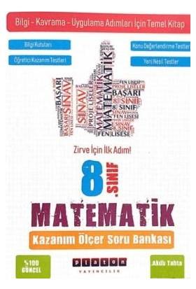 Platon Yayınları Matematik Kazanım Ölçer Soru Bankası 8. Sınıf