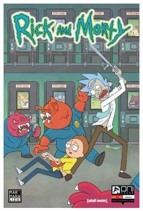 Rick and Morty Sayı 1 Kapak A