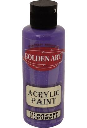 Golden Art Akrilik Boya 130ml - 018 Mor
