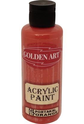 Golden Art Akrilik Boya 130ml - 019 Portakal