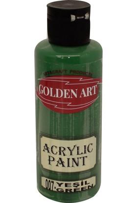 Golden Art Akrilik Boya 130ml - 007 Yeşil