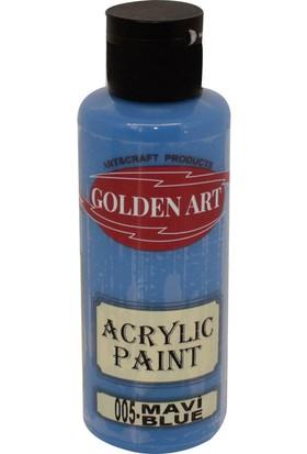 Golden Art Akrilik Boya 130ml - 005 Mavi