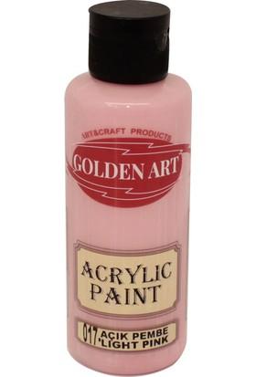 Golden Art Akrilik Boya 130ml - 017 Açık Pembe