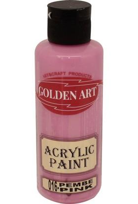 Golden Art Akrilik Boya 130ml - 016 Pembe