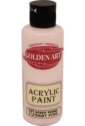 Golden Art Akrilik Boya 130ml - 012 Bebek Pembe
