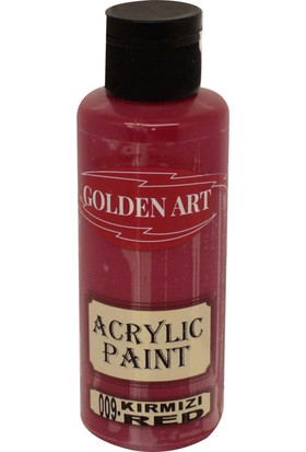 Golden Art Akrilik Boya 130ml - 009 Kırmızı