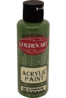 Golden Art Akrilik Boya 130ml - 006 Çimen