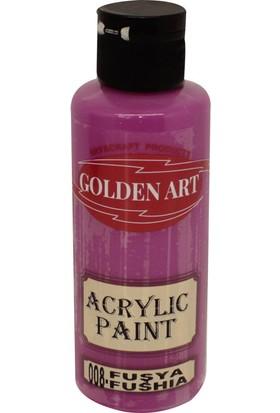 Golden Art Akrilik Boya 130ml - 008 Fuşya