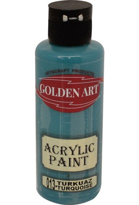 Golden Art Akrilik Boya 130ml - 013 Turkuaz