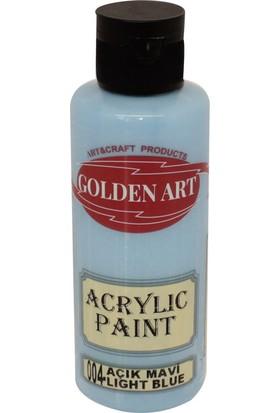 Golden Art Akrilik Boya 130ml - 004 Açık Mavi
