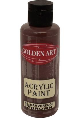 Golden Art Akrilik Boya 130ml - 024 Kahverengi