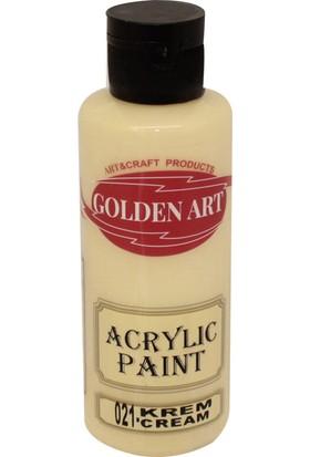 Golden Art Akrilik Boya 130ml - 021 Krem