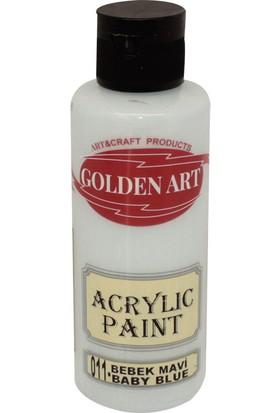Golden Art Akrilik Boya 130ml - 011 Bebek Mavi