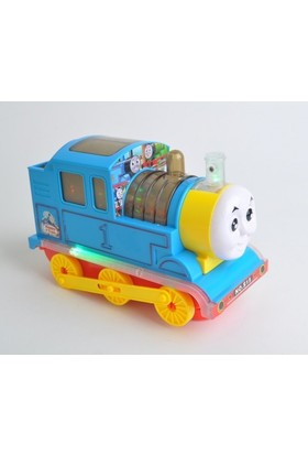 Kayyum Oyuncak Pilli Çarp Dön Thomas Tren Oyuncağı