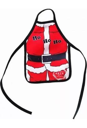 2mstore Yılbaşı Şişe Kılıfı Önlük Noel Baba