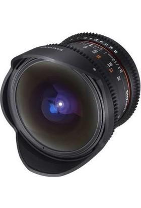 Samyang 12Mm T3.1 Vdslr Ed As Ncs Fisheye Cine Lens