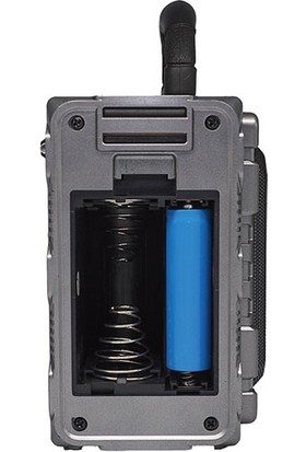 Mikado Mdr - 9Bt Serenad K Usb Tf Destekli Bluetooth Fm - Am*Sw 3 Band Klasik Nostalji Radyo Siyah Kırmızı