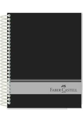 Faber-Castell Sert Kapak Sep.3+1 Siyah Defter 120 Yaprak (stoklarla sınırlıdır)