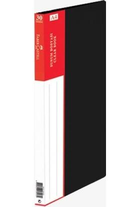 Faber-Castell Standart Sunum Dosyası 30 Yaprak Siyah
