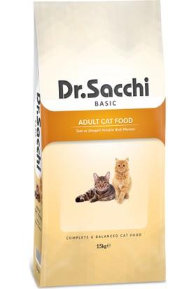 Dr. Sacchi Basic Chicken Yetişkin Kedi Maması 15 Kg