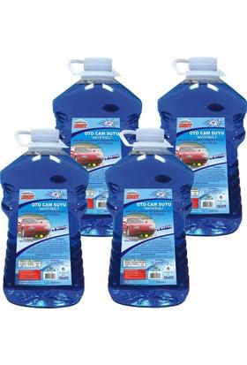 Autokit Antifrizli Oto Cam Suyu 3 Lt % 10 Derece 4 Adet
