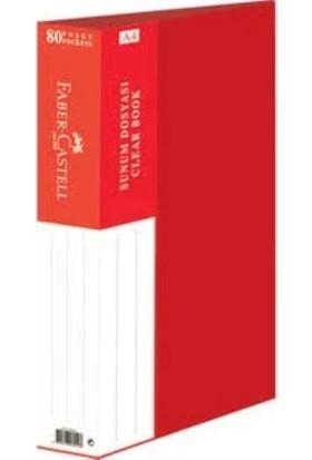 Faber-Castell Standart Sunum Dosyası 80 Yaprak Mavi