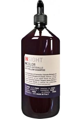 İnsight Incolor Anti Yellow Beyaz Ve Sarı Saçlar İçin Turuncu Ve Kızıllık Önleyici Şampuan 900 ml