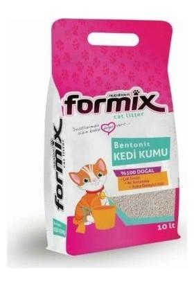 Formix Bentonit Bebek Pudrası Kokulu Topaklaşan Kedi Kumu 10 lt