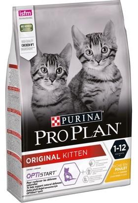 Pro Plan Junior Tavuklu Yavru Kedi Maması 10 Kg