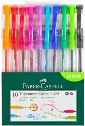 Faber-Castell 1425 Tükenmez Ailesi 10'lu Poşet