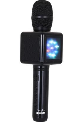Doppler Hellium Mikrofon (Siyah)