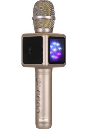 Doppler Hellium Mikrofon (Altın)
