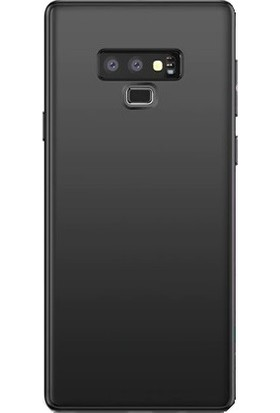 Cafele Vendas Samsung Galaxy Note 9 Silikon Kılıf - Siyah