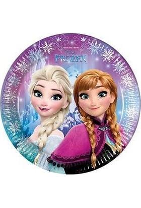 Balonpark Elsa Frozen 8li Tabak 23cm Doğum Günü Parti Tabağı