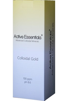 Active Essentials Altın Suyu - Kolloidal - Active Essentials® 100Ppm 500 ml
