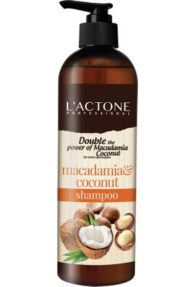 L'Actone Besleyici Şampuan Hindistan Cevizi Yağı Etkili 400 ml